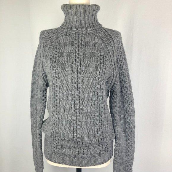 Barney's Merino Wool Chunky Turtleneck Sweater